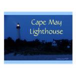 Postal del faro de Cape May