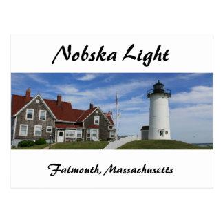 Postal del faro de Nobska