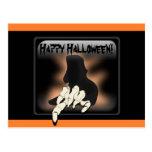 Postal del feliz Halloween