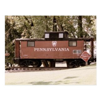 Postal del ferrocarril de Pennsylvania