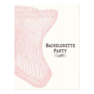 Postal del fiesta de Bachelorette