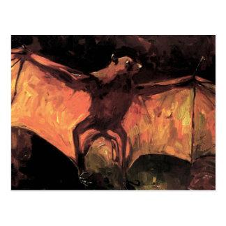 Postal del Fox de vuelo de Van Gogh