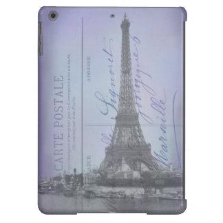 Postal del francés de la feria de mundo de París Carcasa iPad Air