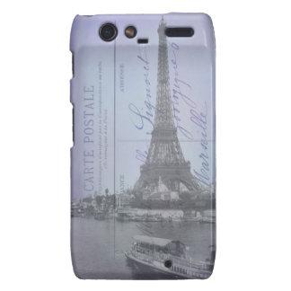 Postal del francés de la feria de mundo de París Motorola Droid RAZR Funda