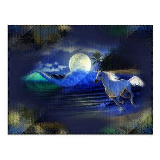 Postal del funcionamiento del claro de luna