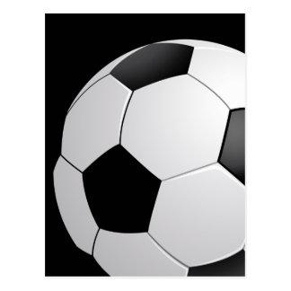 Postal del fútbol del fútbol
