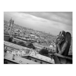 Postal del Gargoyle de Notre Dame