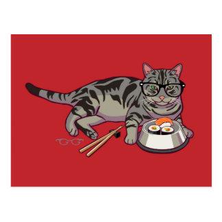 Postal del gatito del inconformista (sin texto)