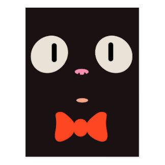 """""""Postal del gato de la bruja"""" (3/3) Tarjetas Postales"""