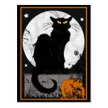 """Postal del """"gato negro"""""""