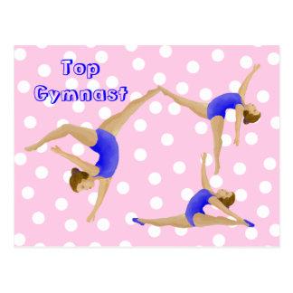 Postal del gimnasta