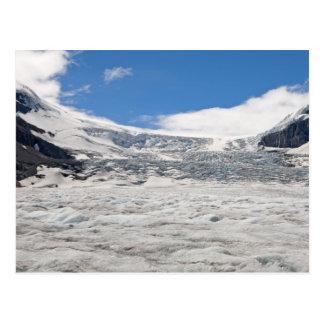 Postal del glaciar de Athabasca