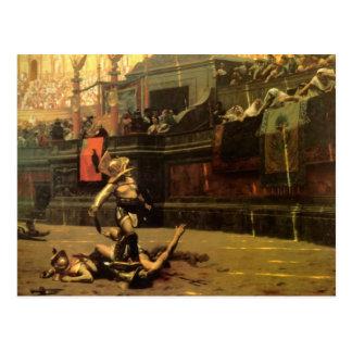 Postal del gladiador