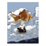 Postal del Goldfish