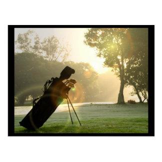 Postal del golf