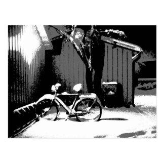 Postal del gráfico de la bicicleta