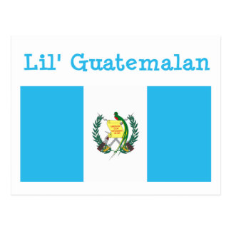 Postal del guatemalteco de Lil