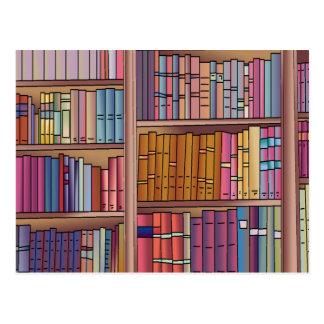 Postal del gusano de libro