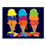 Postal del helado
