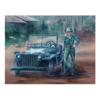 Postal del héroe de la Guerra de Corea