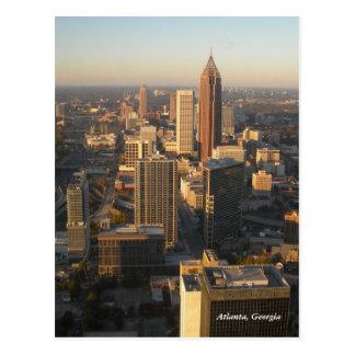 Postal del horizonte de Atlanta Georgia