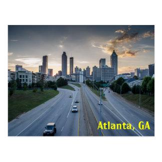 Postal del horizonte de Atlanta