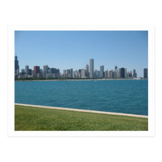 """""""Postal del horizonte de Chicago"""""""
