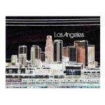 Postal del horizonte de Los Ángeles