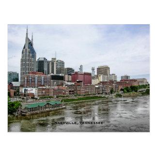 Postal del horizonte de Nashville