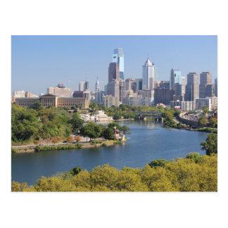 Postal del horizonte de Philadelphia