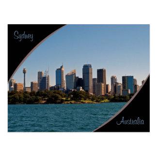 Postal del horizonte de Sydney