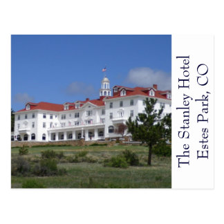 Postal del hotel de Colorado Stanley del parque de