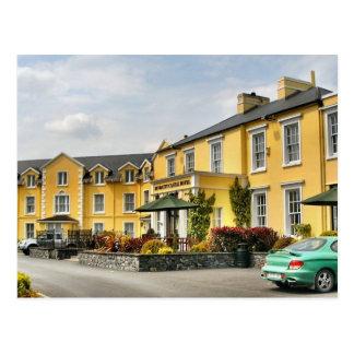 Postal del hotel del castillo de Bunratty