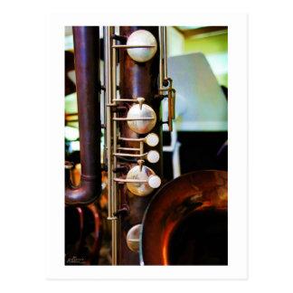 Postal del instrumento musical
