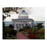Postal del jardín botánico de Lewis Ginter