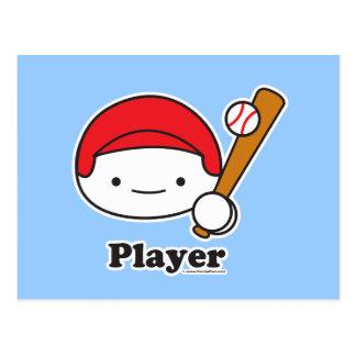 Postal del jugador (béisbol)