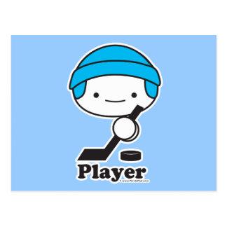 Postal del jugador (hockey)