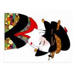 Postal del kimono