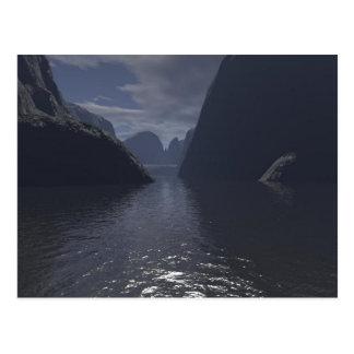 Postal del lago canyon