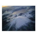 Postal del lago crater