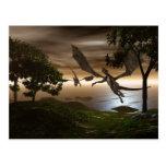 Postal del lago dragons