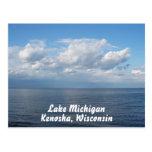 Postal del lago Michigan