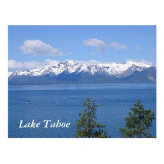 Postal del lago Tahoe