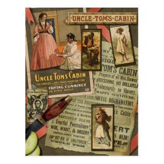 Postal del libro de recuerdos de la cabina de tío