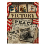 """Postal del libro de recuerdos de WWI de la """"victor"""