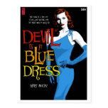 Postal del libro en rústica: Diablo en un vestido