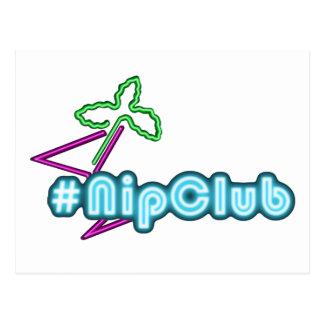 Postal del logotipo de Nipclub