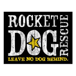 Postal del logotipo de RDR