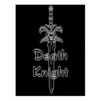 Postal del logotipo del caballero de la muerte