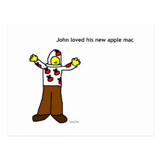 Postal del mac de Apple